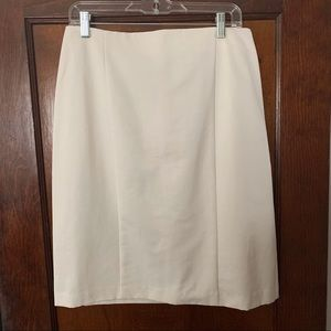The Limited cream pencil skirt